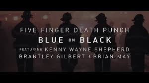 """Five Finger Death Punch Release """"Blue On Black"""" With Kenny Wayne Shepard, Brantley Gilbert And Brian May For A Powerful Collaboration!"""