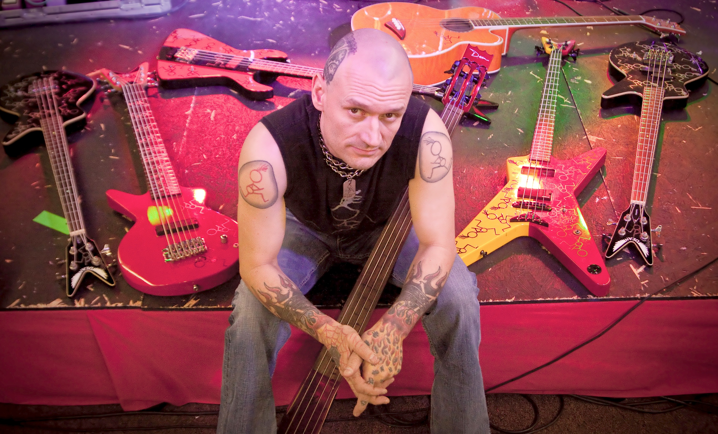 Master Bassist Rev Jones Gives Us Insight On The Making Of His New Solo Album And What It's Like To Be A Rocker Today!
