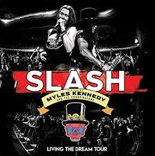 "Slash Featuring Myles Kennedy & The Conspirators Release ""Ghost"" Live!"