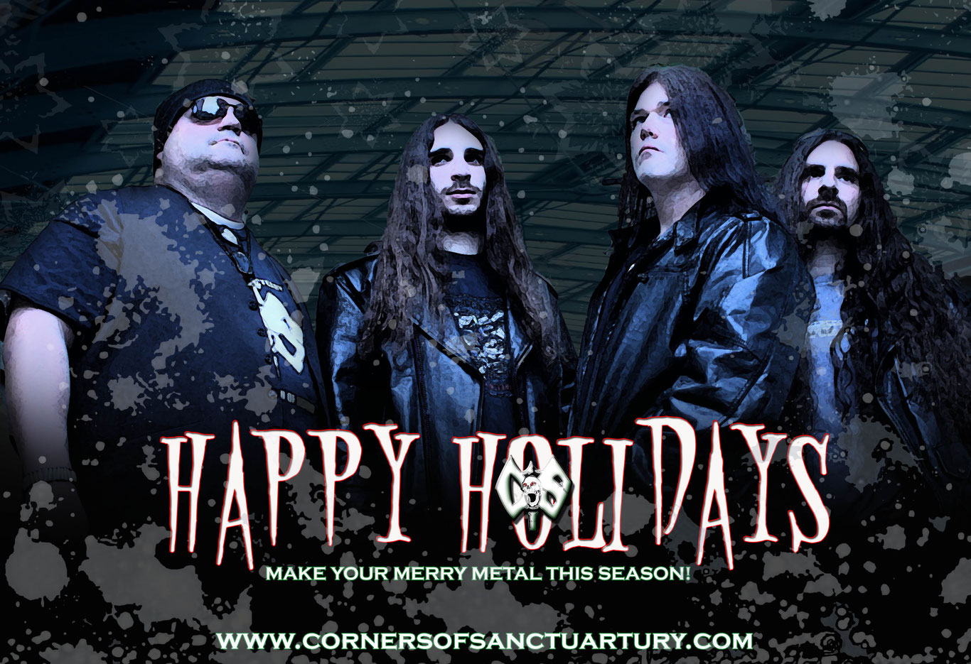 """Corners Of Sanctuary Release Their Latest Holiday Single """"Hold On To Christmas""""!"""