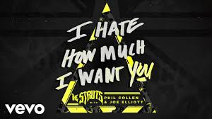 "The Struts Team Up With Joe Elliot And Phil Collen For Their New Single ""I How Much I Want You"". Glam At Its Finest!"